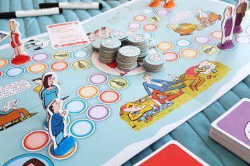 gra planszowa - gierki małżeńskie