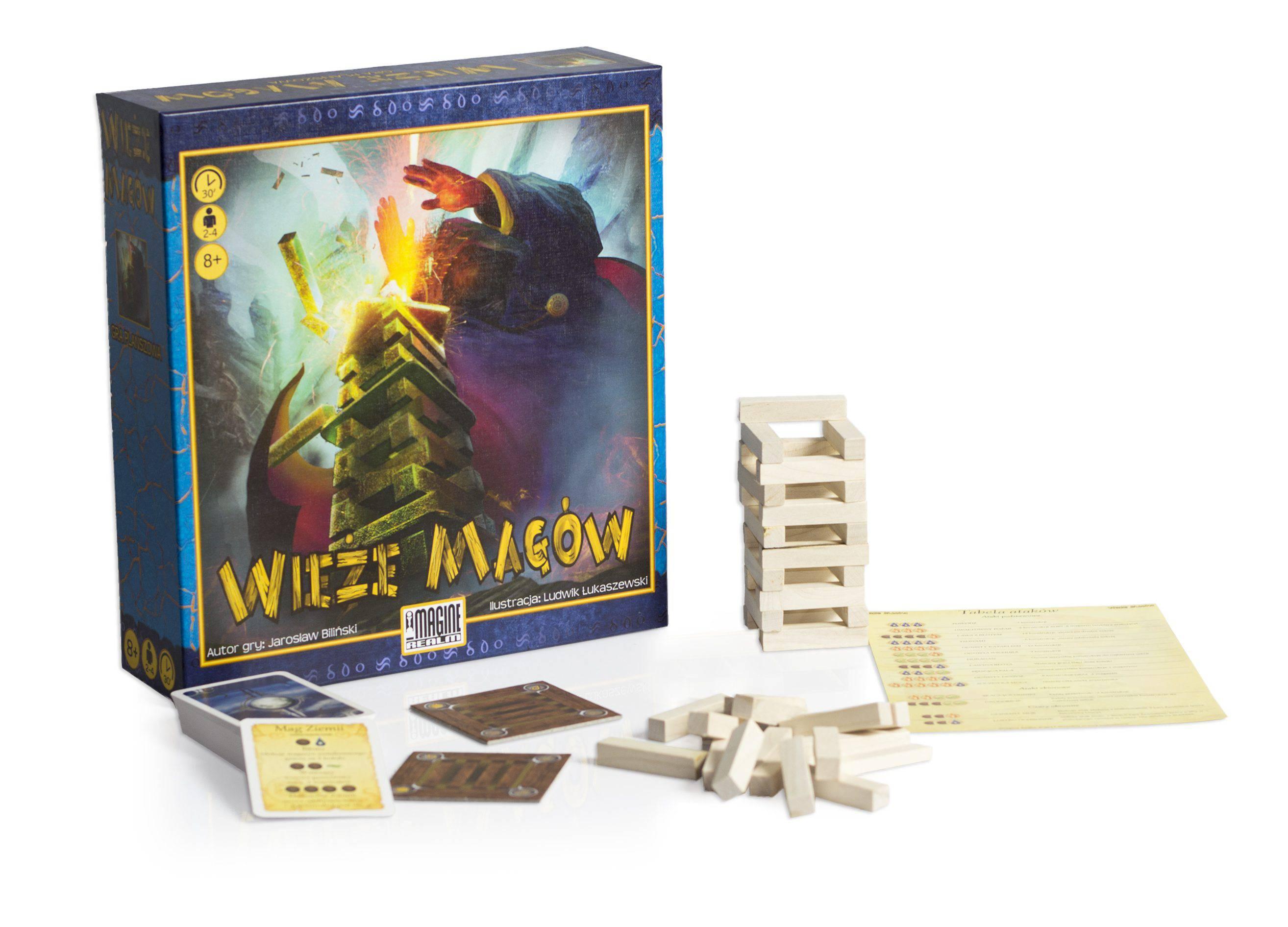 gra karciana - wieże magów