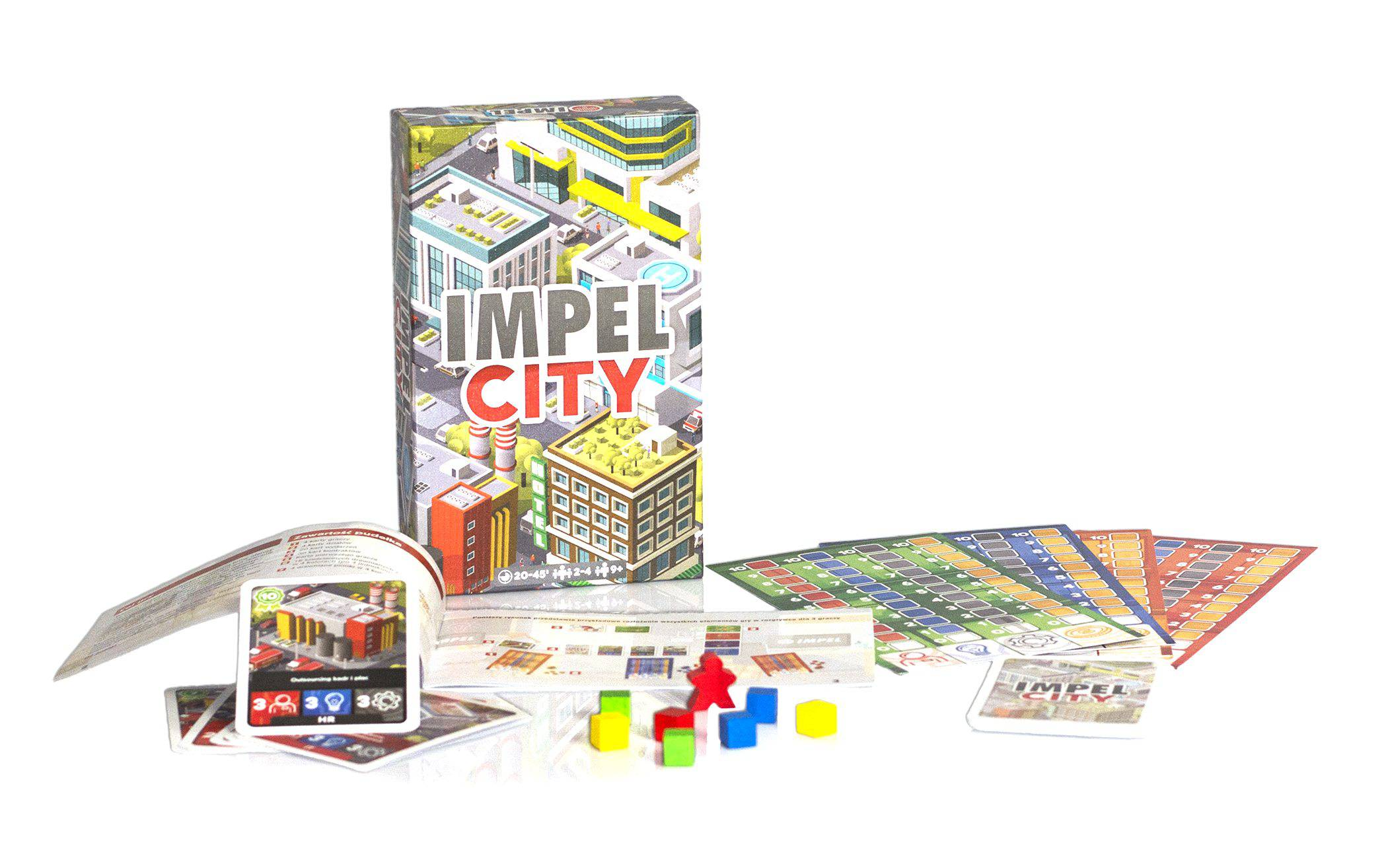 gra planszowa - impel city