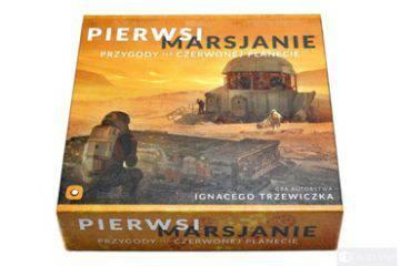 gra planszowa - Pierwsi Marsjanie