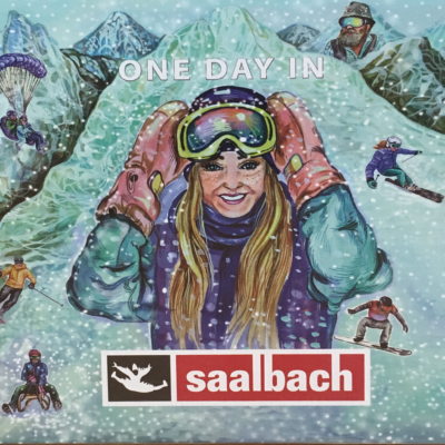 ONE DAY IN SAALBACH